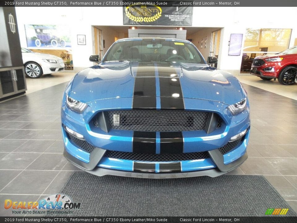 Performance Blue 2019 Ford Mustang Shelby GT350 Photo #2