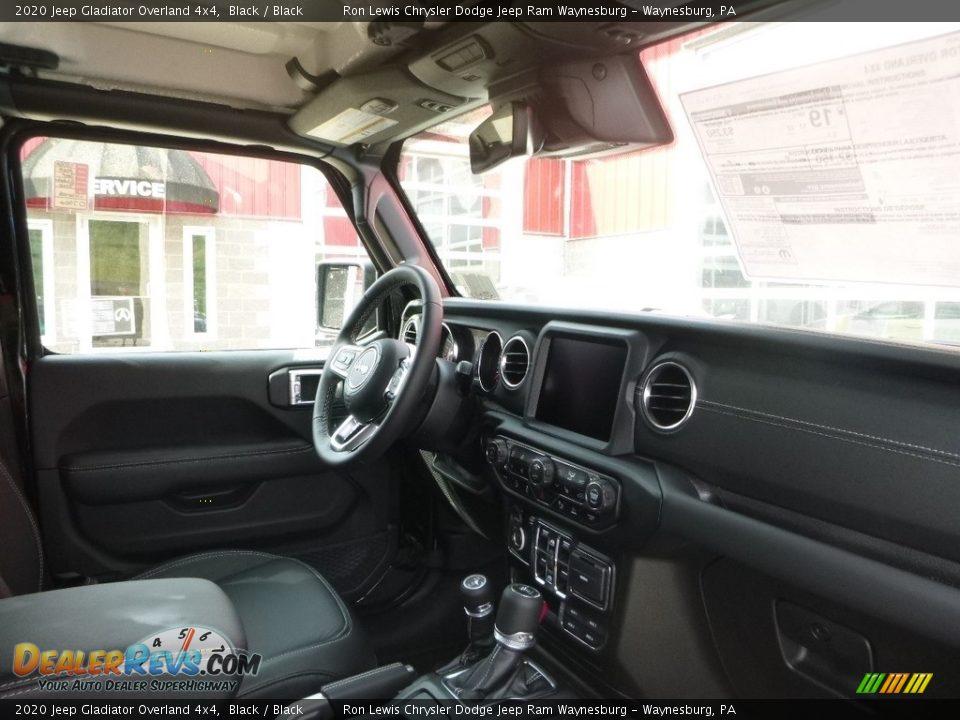 2020 Jeep Gladiator Overland 4x4 Black / Black Photo #10