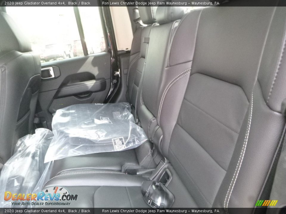 Rear Seat of 2020 Jeep Gladiator Overland 4x4 Photo #11