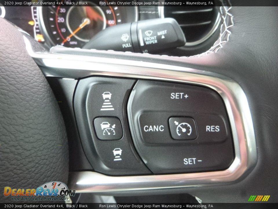 2020 Jeep Gladiator Overland 4x4 Steering Wheel Photo #17