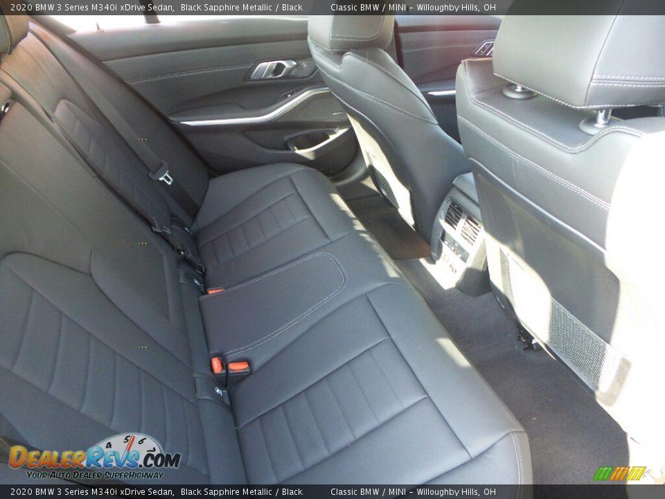 2020 BMW 3 Series 340i xDrive Sedan Black Sapphire Metallic / Black Photo #4