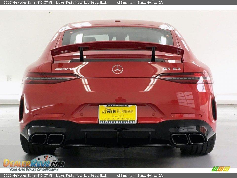 2019 Mercedes-Benz AMG GT 63 Jupiter Red / Macchiato Beige/Black Photo #3