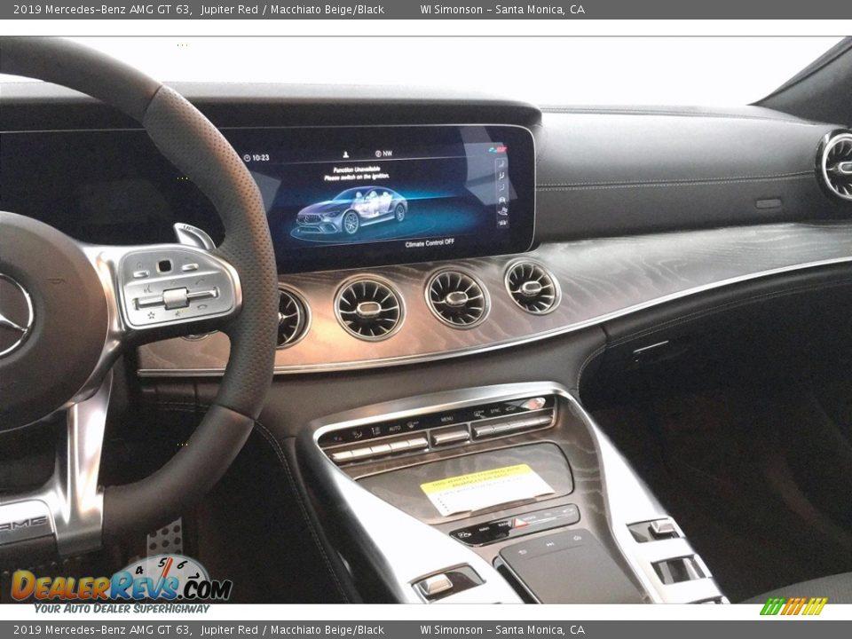 Dashboard of 2019 Mercedes-Benz AMG GT 63 Photo #5