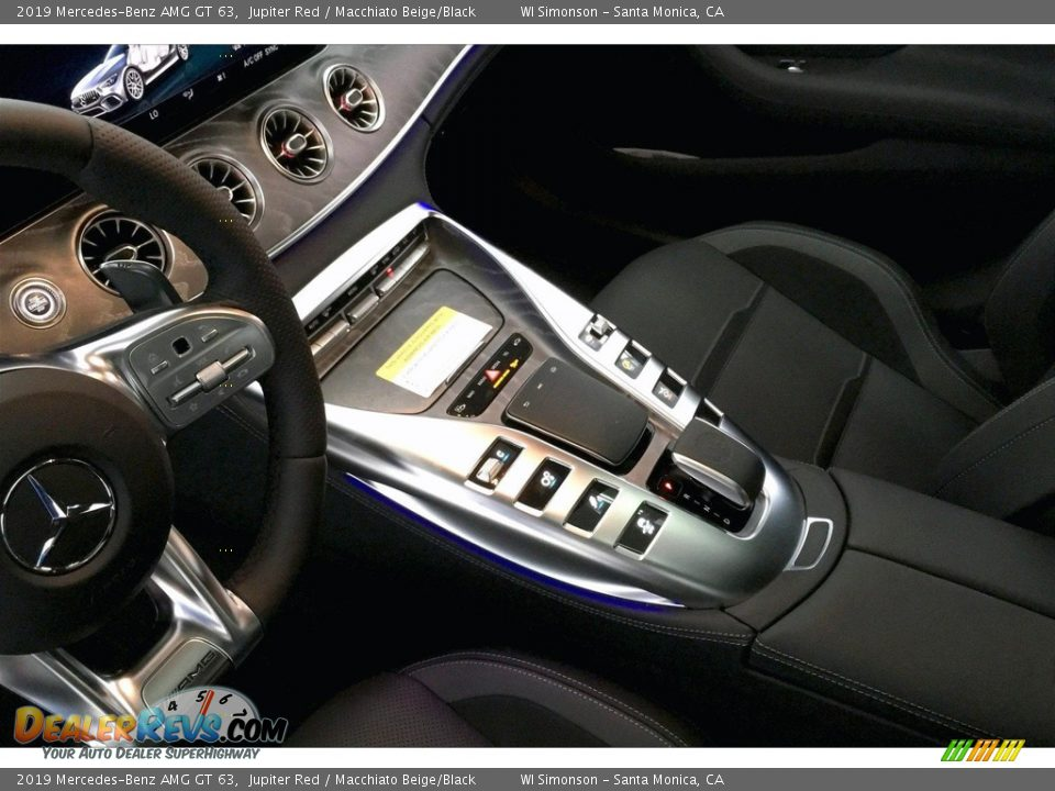 Controls of 2019 Mercedes-Benz AMG GT 63 Photo #23