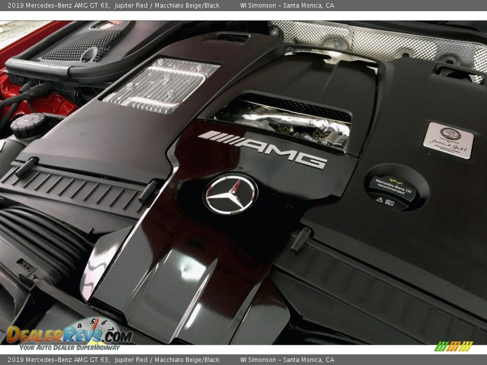 2019 Mercedes-Benz AMG GT 63 4.0 AMG Twin-Turbocharged DOHC 32-Valve VVT V8 Engine Photo #31