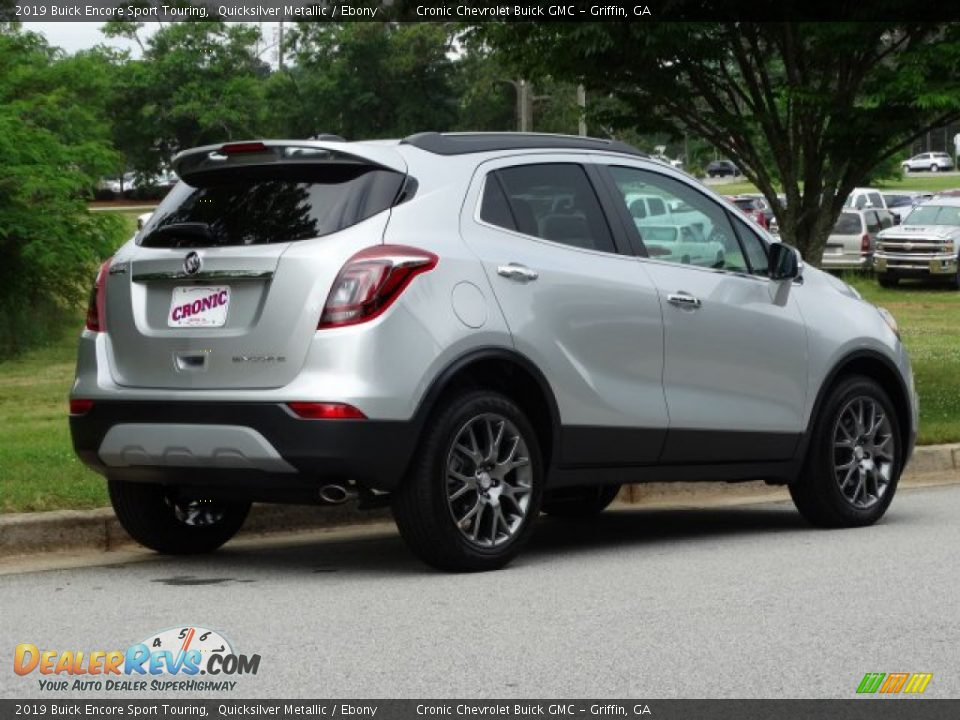 2019 Buick Encore Sport Touring Quicksilver Metallic / Ebony Photo #3