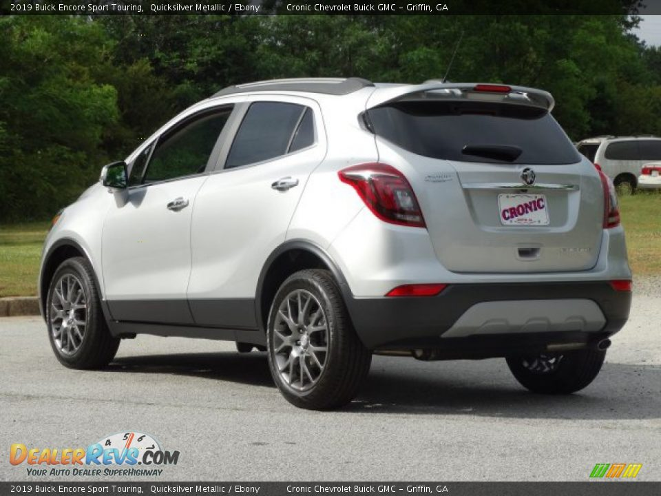 2019 Buick Encore Sport Touring Quicksilver Metallic / Ebony Photo #6