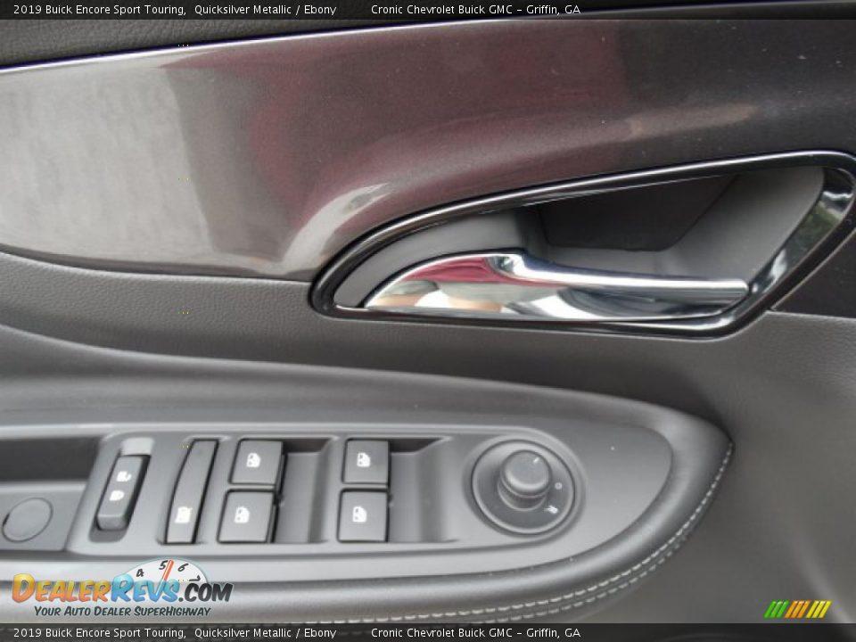 2019 Buick Encore Sport Touring Quicksilver Metallic / Ebony Photo #12