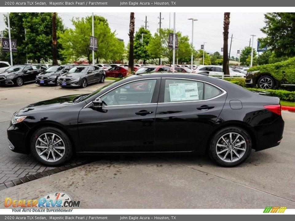 Majestic Black Pearl 2020 Acura TLX Sedan Photo #4