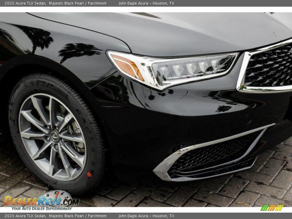2020 Acura TLX Sedan Majestic Black Pearl / Parchment Photo #10
