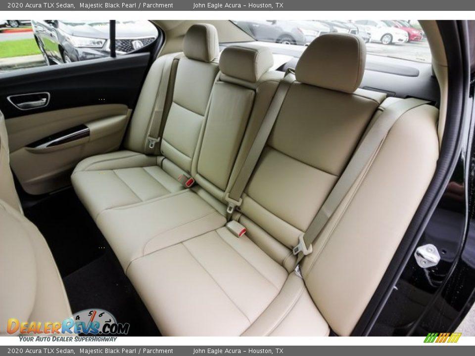 Rear Seat of 2020 Acura TLX Sedan Photo #17