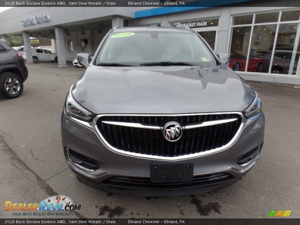 2018 Buick Enclave Essence AWD Satin Steel Metallic / Shale Photo #2