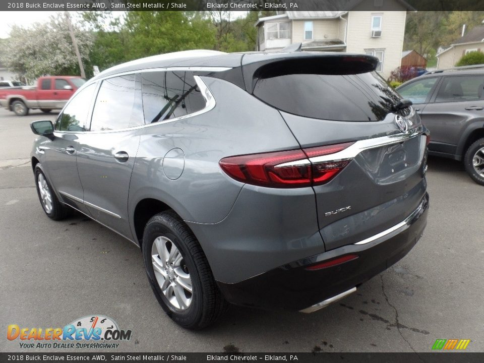2018 Buick Enclave Essence AWD Satin Steel Metallic / Shale Photo #6