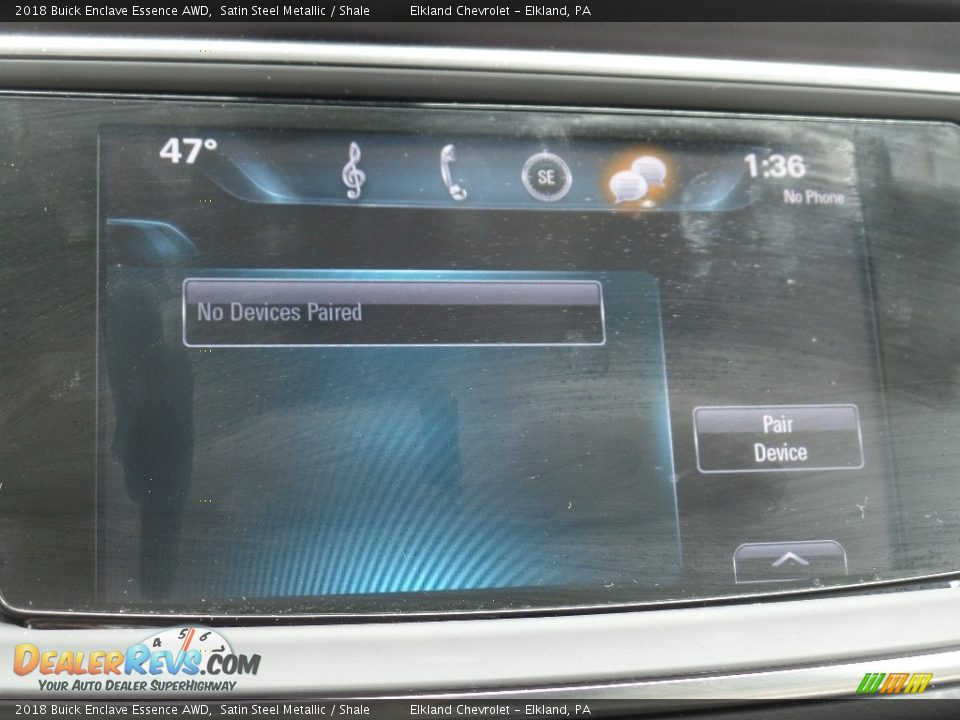 2018 Buick Enclave Essence AWD Satin Steel Metallic / Shale Photo #30