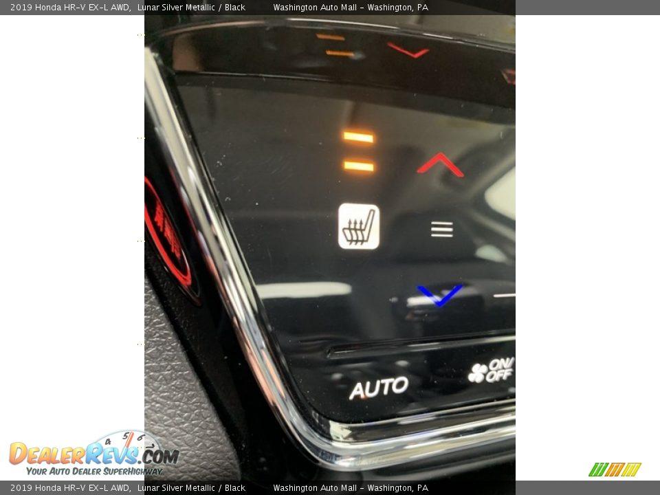2019 Honda HR-V EX-L AWD Lunar Silver Metallic / Black Photo #36