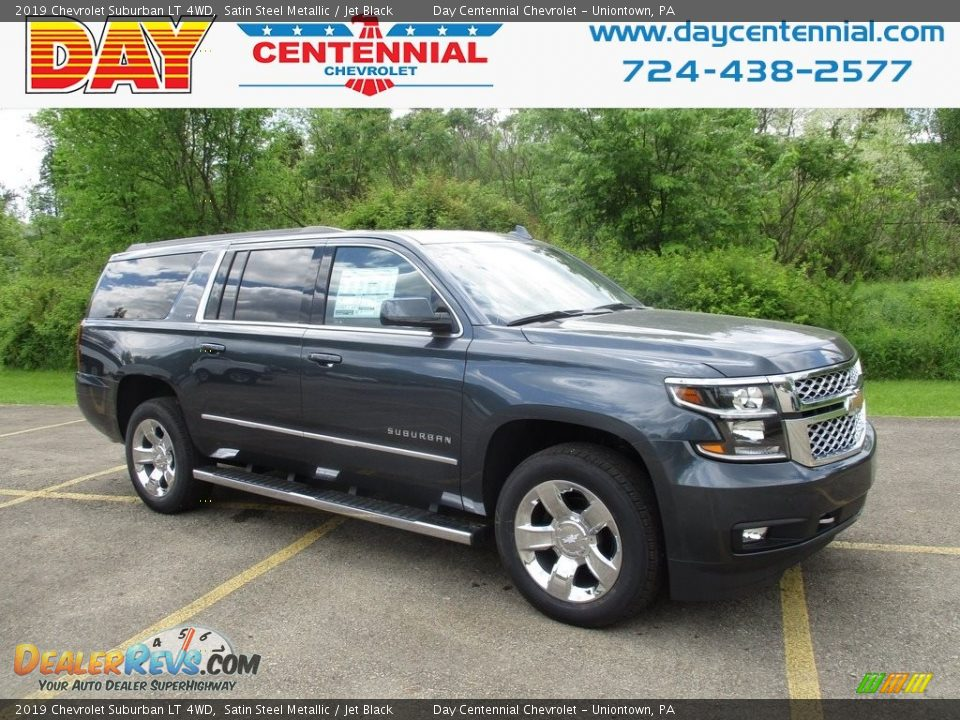 2019 Chevrolet Suburban LT 4WD Satin Steel Metallic / Jet Black Photo #1