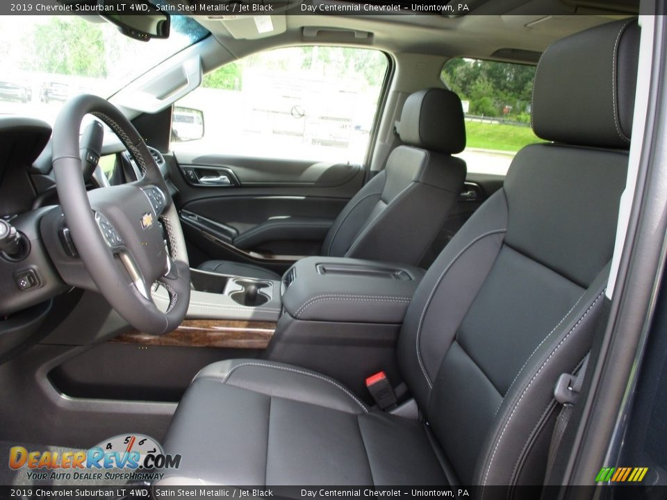 2019 Chevrolet Suburban LT 4WD Satin Steel Metallic / Jet Black Photo #9