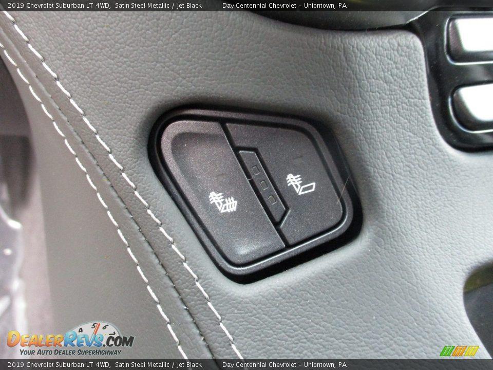 2019 Chevrolet Suburban LT 4WD Satin Steel Metallic / Jet Black Photo #18
