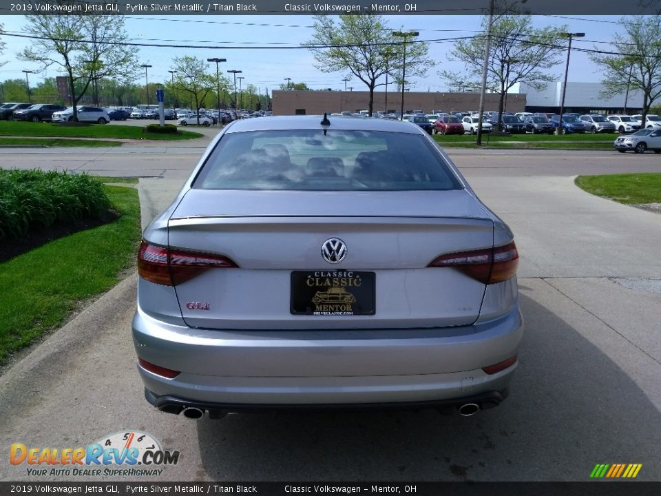 2019 Volkswagen Jetta GLI Pyrite Silver Metallic / Titan Black Photo #5