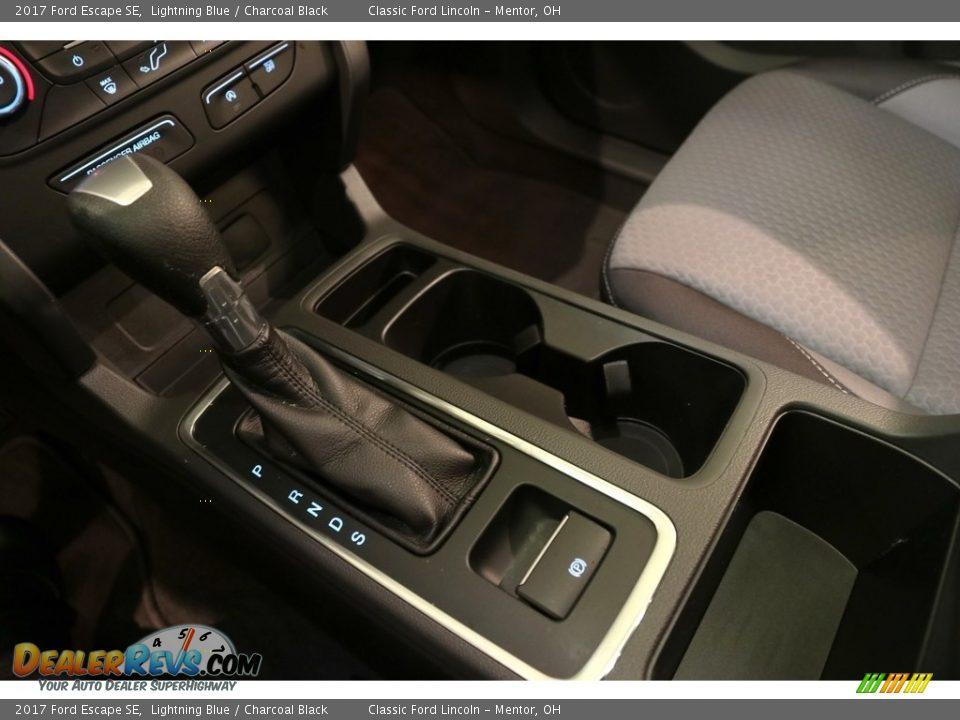 2017 Ford Escape SE Lightning Blue / Charcoal Black Photo #15