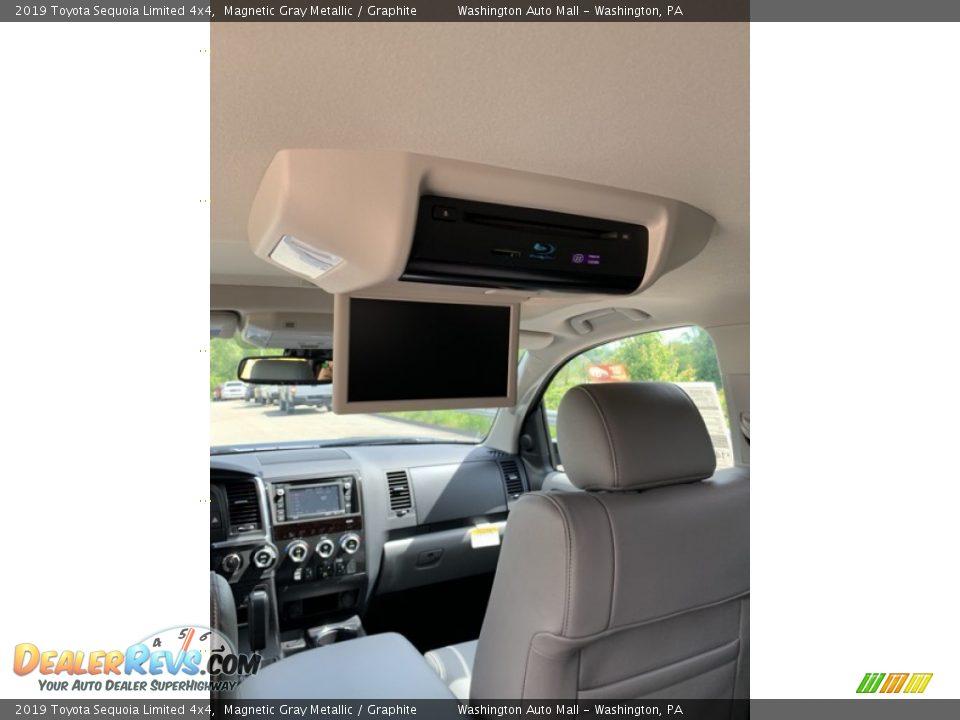 2019 Toyota Sequoia Limited 4x4 Magnetic Gray Metallic / Graphite Photo #26