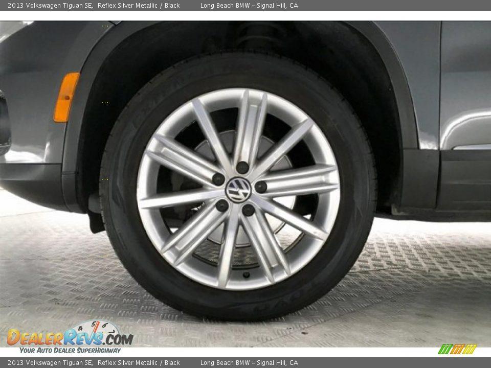 2013 Volkswagen Tiguan SE Reflex Silver Metallic / Black Photo #8