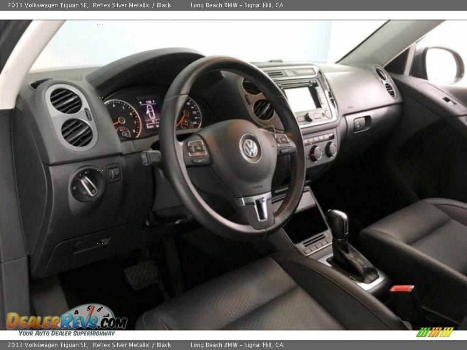 2013 Volkswagen Tiguan SE Reflex Silver Metallic / Black Photo #16