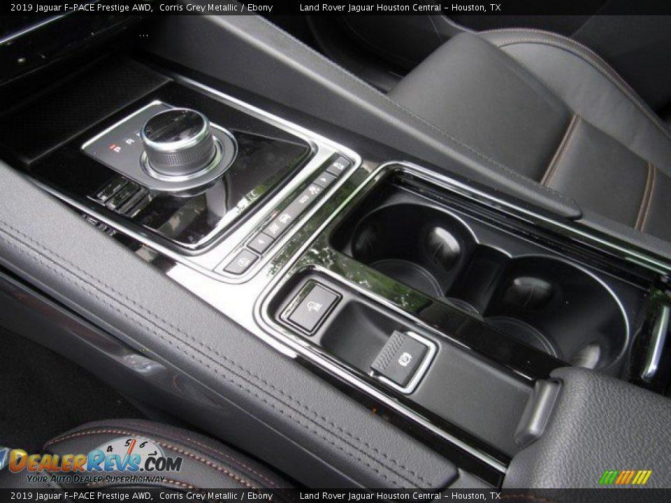 2019 Jaguar F-PACE Prestige AWD Corris Grey Metallic / Ebony Photo #35