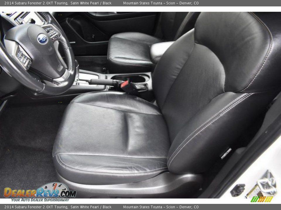 2014 Subaru Forester 2.0XT Touring Satin White Pearl / Black Photo #11