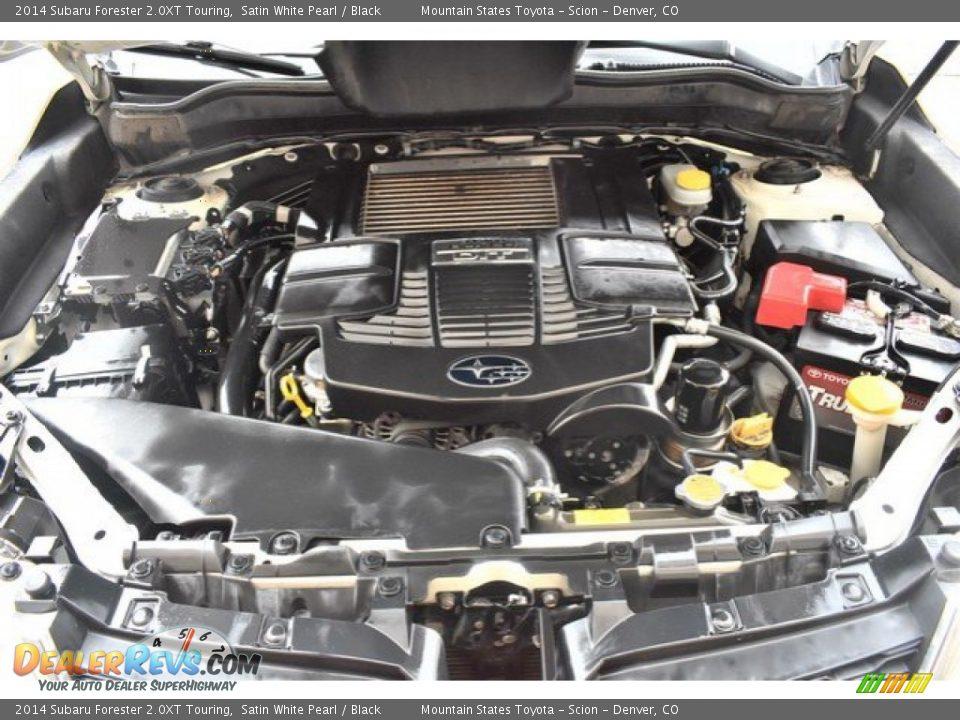 2014 Subaru Forester 2.0XT Touring Satin White Pearl / Black Photo #28