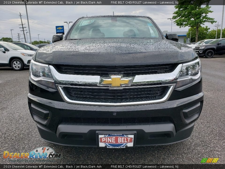2019 Chevrolet Colorado WT Extended Cab Black / Jet Black/Dark Ash Photo #2