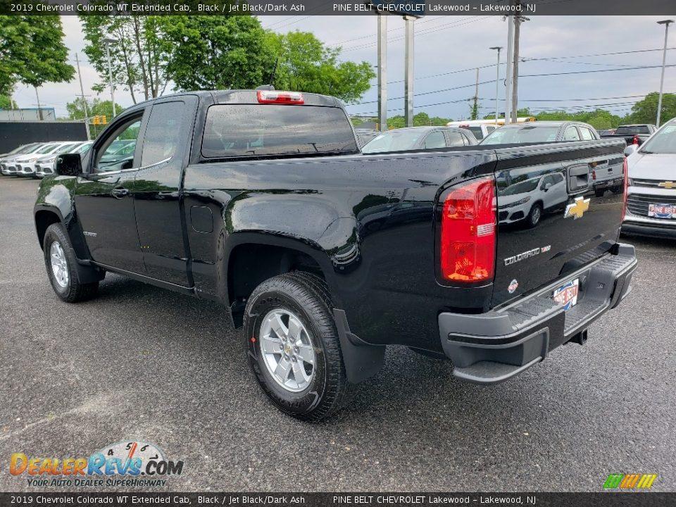 2019 Chevrolet Colorado WT Extended Cab Black / Jet Black/Dark Ash Photo #4