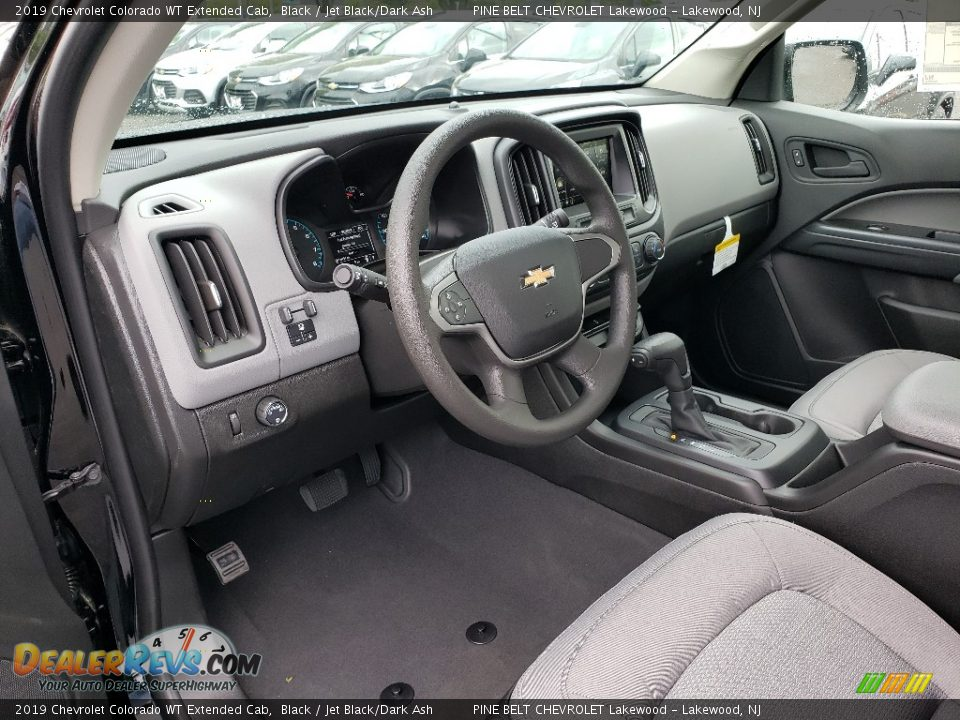 2019 Chevrolet Colorado WT Extended Cab Black / Jet Black/Dark Ash Photo #6