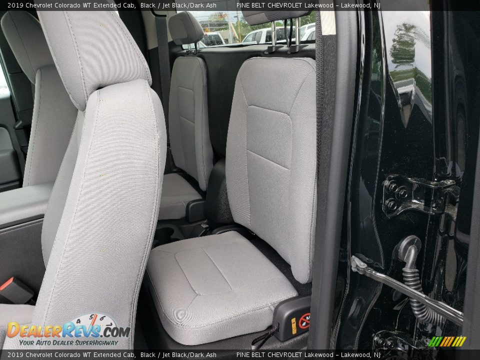 Rear Seat of 2019 Chevrolet Colorado WT Extended Cab Photo #9
