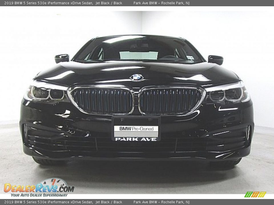 2019 BMW 5 Series 530e iPerformance xDrive Sedan Jet Black / Black Photo #6
