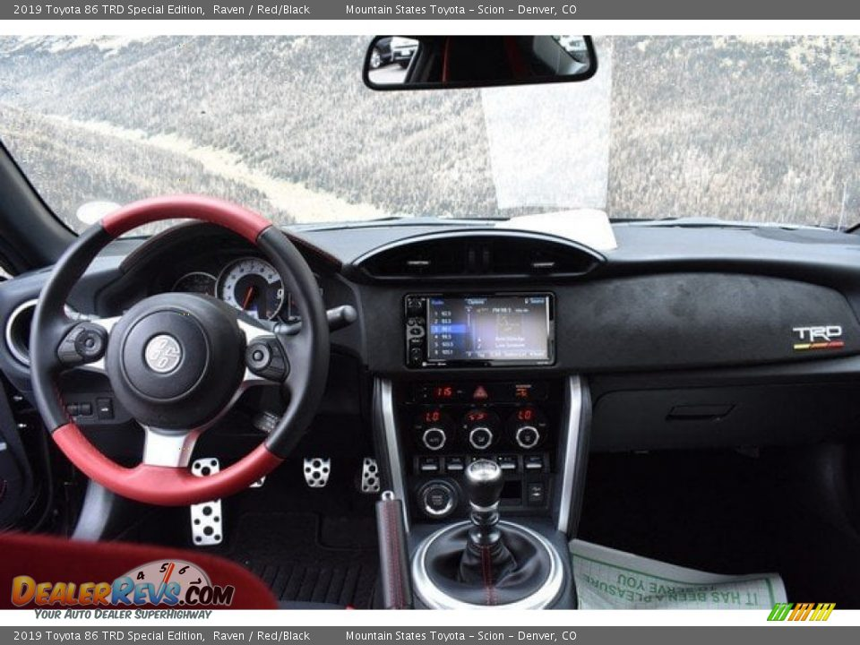 Dashboard of 2019 Toyota 86 TRD Special Edition Photo #7