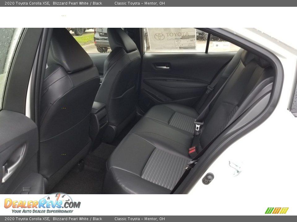 2020 Toyota Corolla XSE Blizzard Pearl White / Black Photo #3