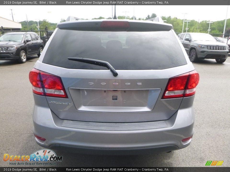 2019 Dodge Journey SE Billet / Black Photo #4