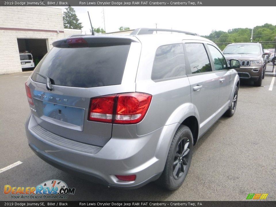 2019 Dodge Journey SE Billet / Black Photo #5