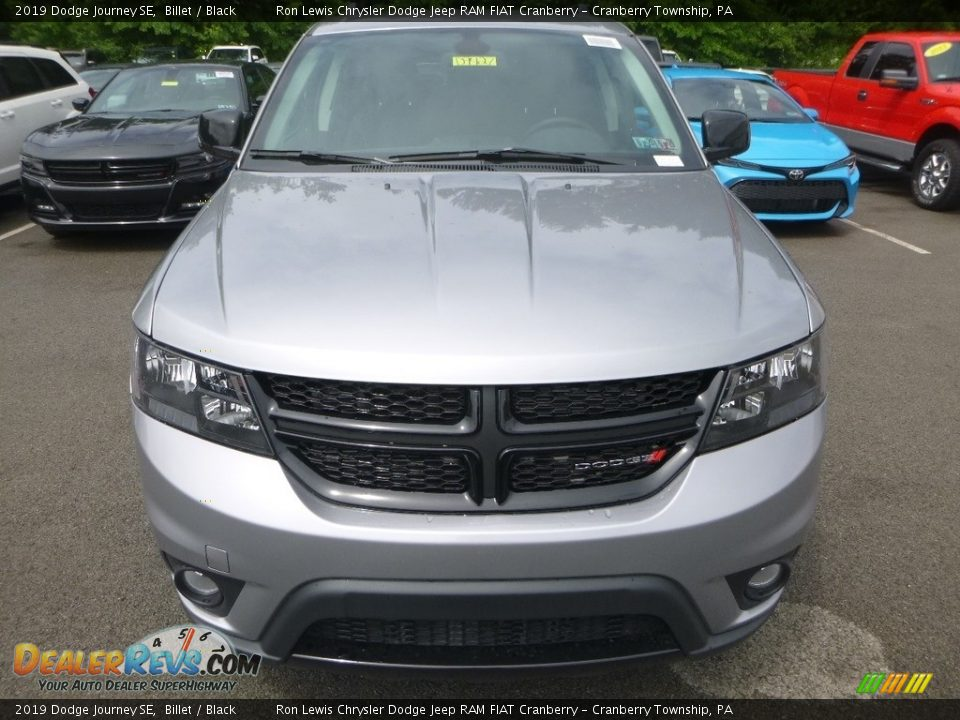 2019 Dodge Journey SE Billet / Black Photo #8