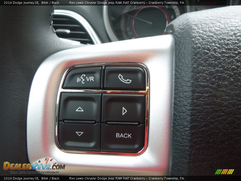 2019 Dodge Journey SE Billet / Black Photo #17