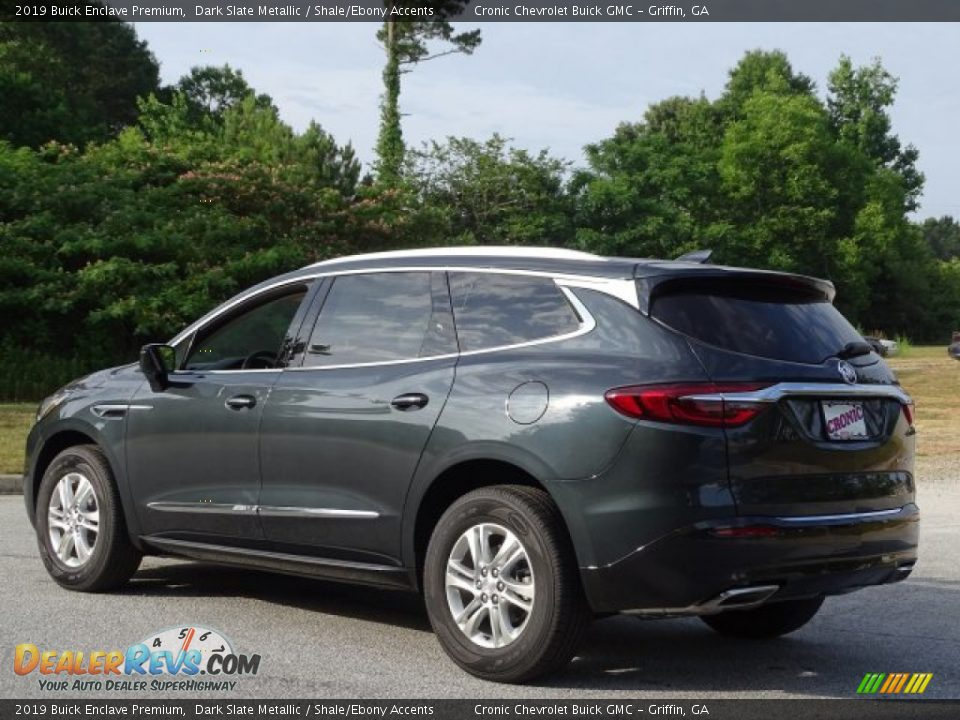 2019 Buick Enclave Premium Dark Slate Metallic / Shale/Ebony Accents Photo #7