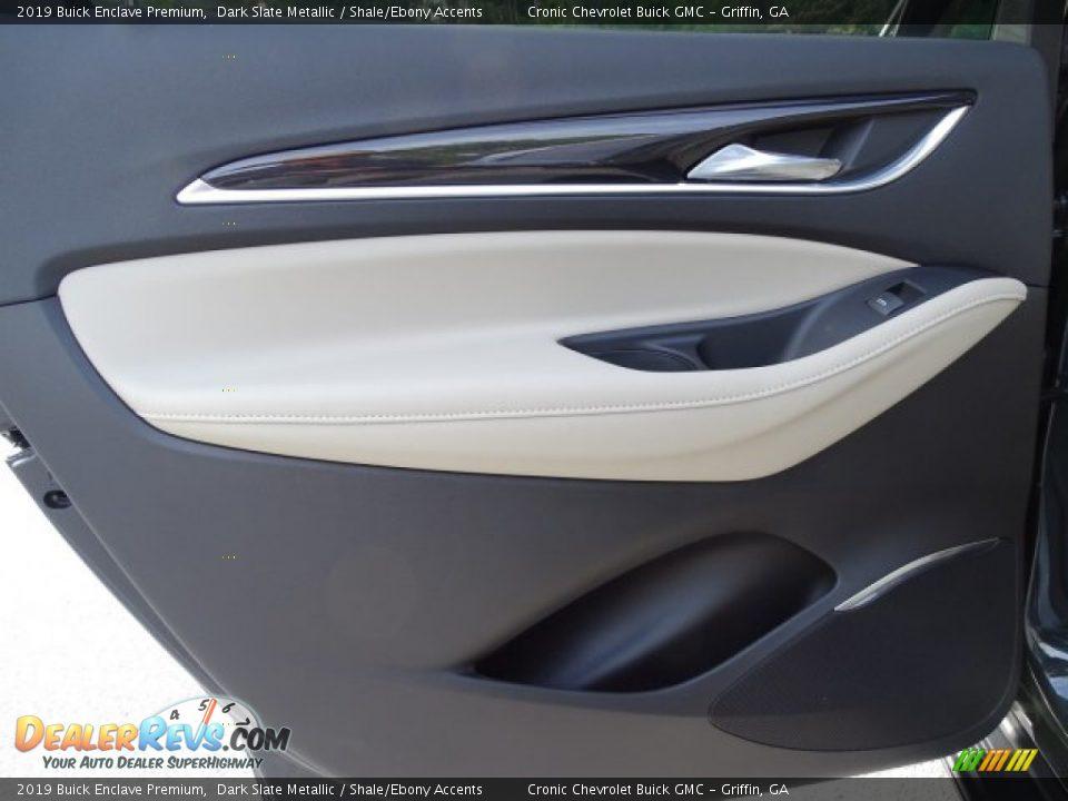 2019 Buick Enclave Premium Dark Slate Metallic / Shale/Ebony Accents Photo #24