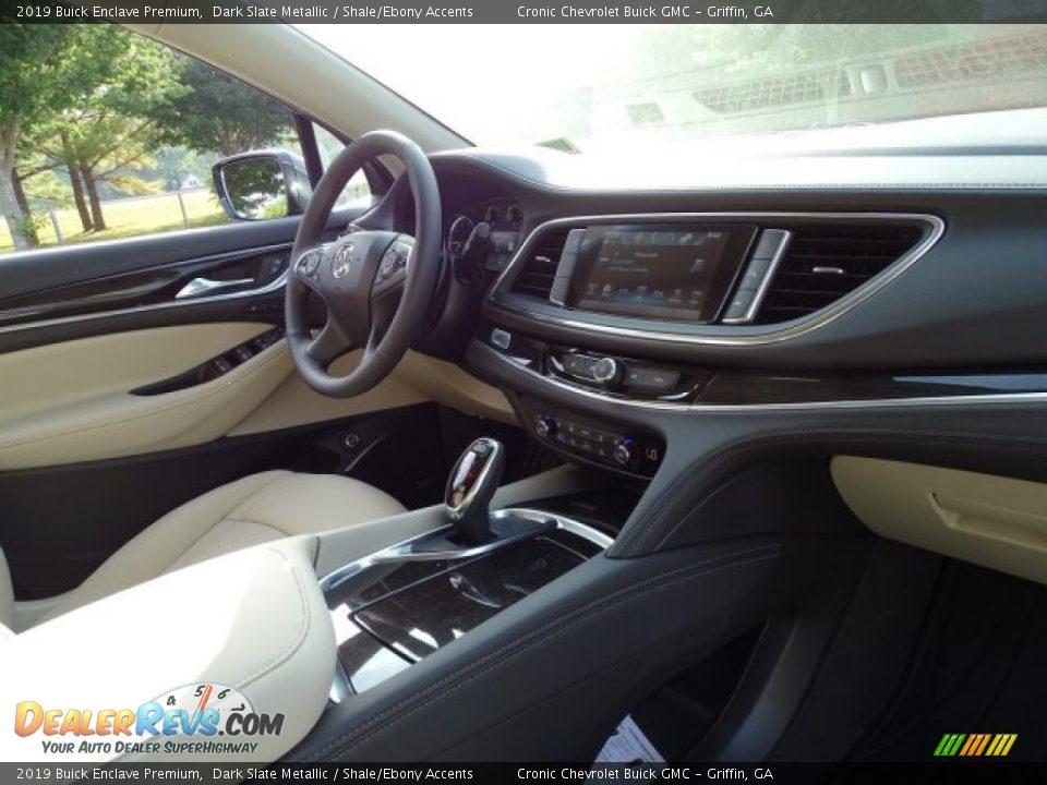 2019 Buick Enclave Premium Dark Slate Metallic / Shale/Ebony Accents Photo #35
