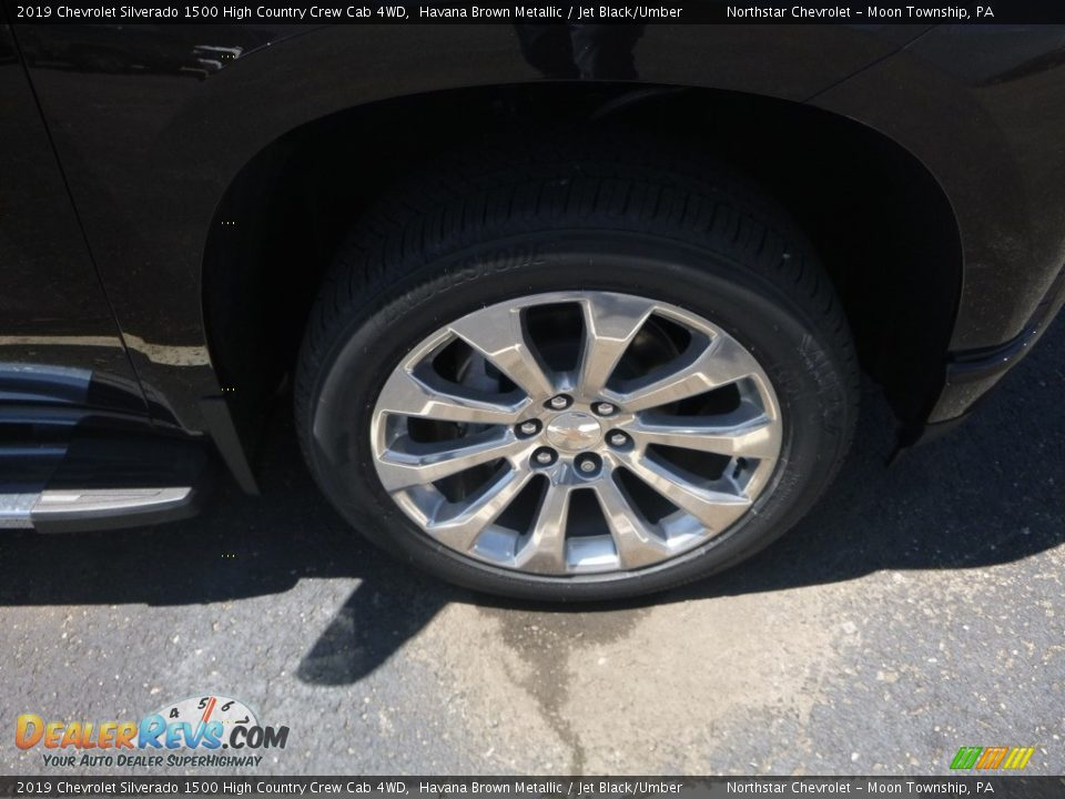 2019 Chevrolet Silverado 1500 High Country Crew Cab 4WD Havana Brown Metallic / Jet Black/Umber Photo #3