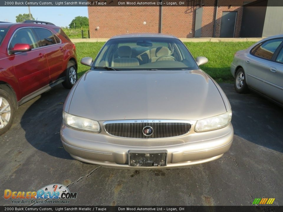 2000 Buick Century Custom Light Sandrift Metallic / Taupe Photo #5