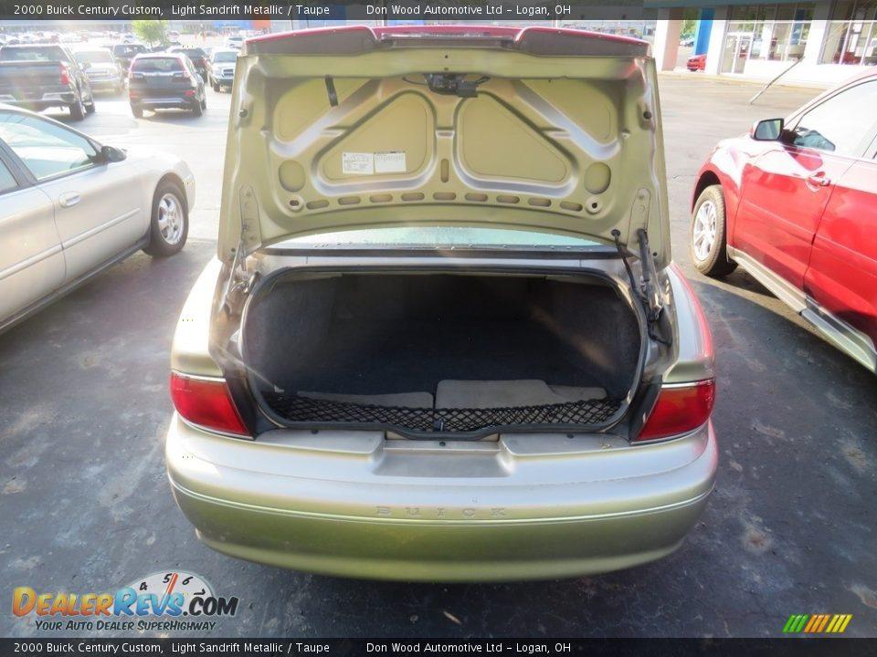 2000 Buick Century Custom Light Sandrift Metallic / Taupe Photo #13