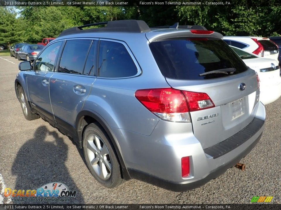 2013 Subaru Outback 2.5i Limited Ice Silver Metallic / Off Black Leather Photo #2