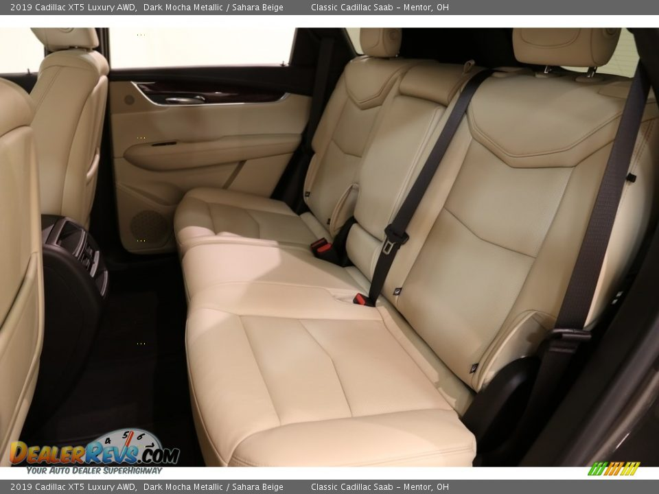 2019 Cadillac XT5 Luxury AWD Dark Mocha Metallic / Sahara Beige Photo #18