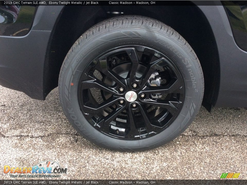 2019 GMC Terrain SLE AWD Ebony Twilight Metallic / Jet Black Photo #7